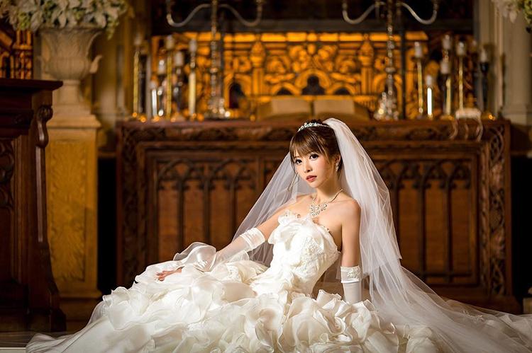 優月美羽「引退・結婚・現在」水揚げされて幸せになる秘訣♡3ウェディングドレス