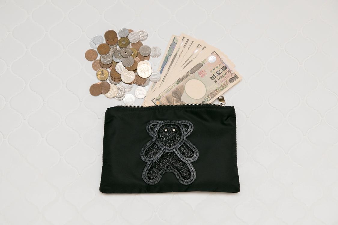 ポーチがお財布って意外とアリ♪〜一条マリカの中身編♡〜